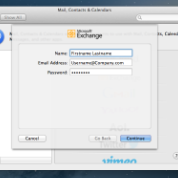 Microsoft Exchange Integration for OS X