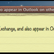 Porting Outlook Notes to Mac