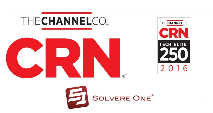 Solvere One Makes CRN's 2016 Tech Elite